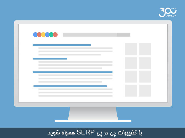 درک و سازگار شدن با تغییرات همواره SERP